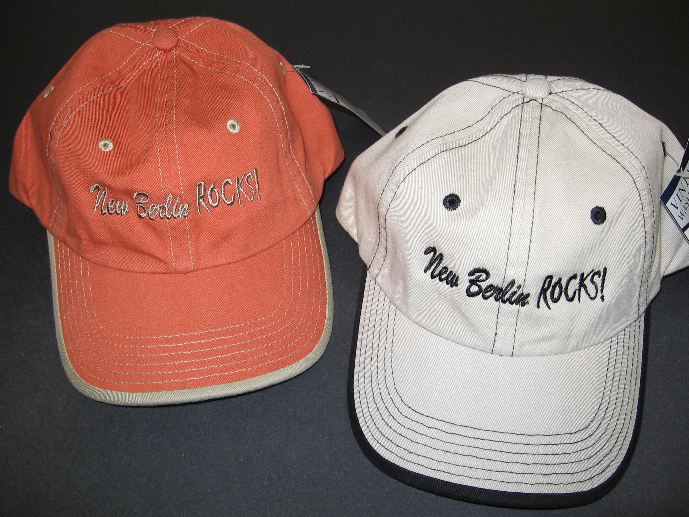 New Berlin Rocks Baseball Caps