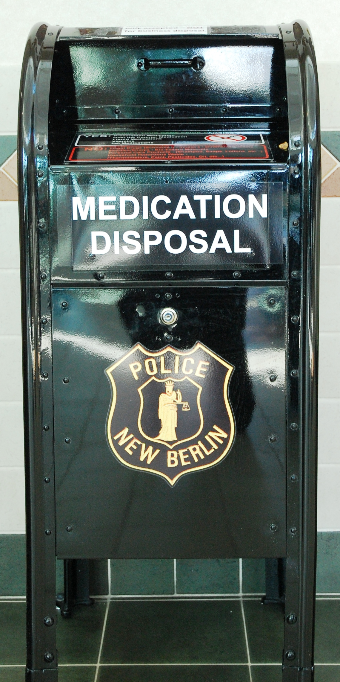 Prescription Drug Drop Off Box