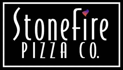 Stonefire Pizza Logo Black and White