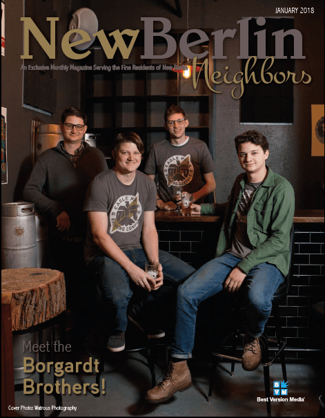Jan Cover New Berlin Neighbors - Borgardt
