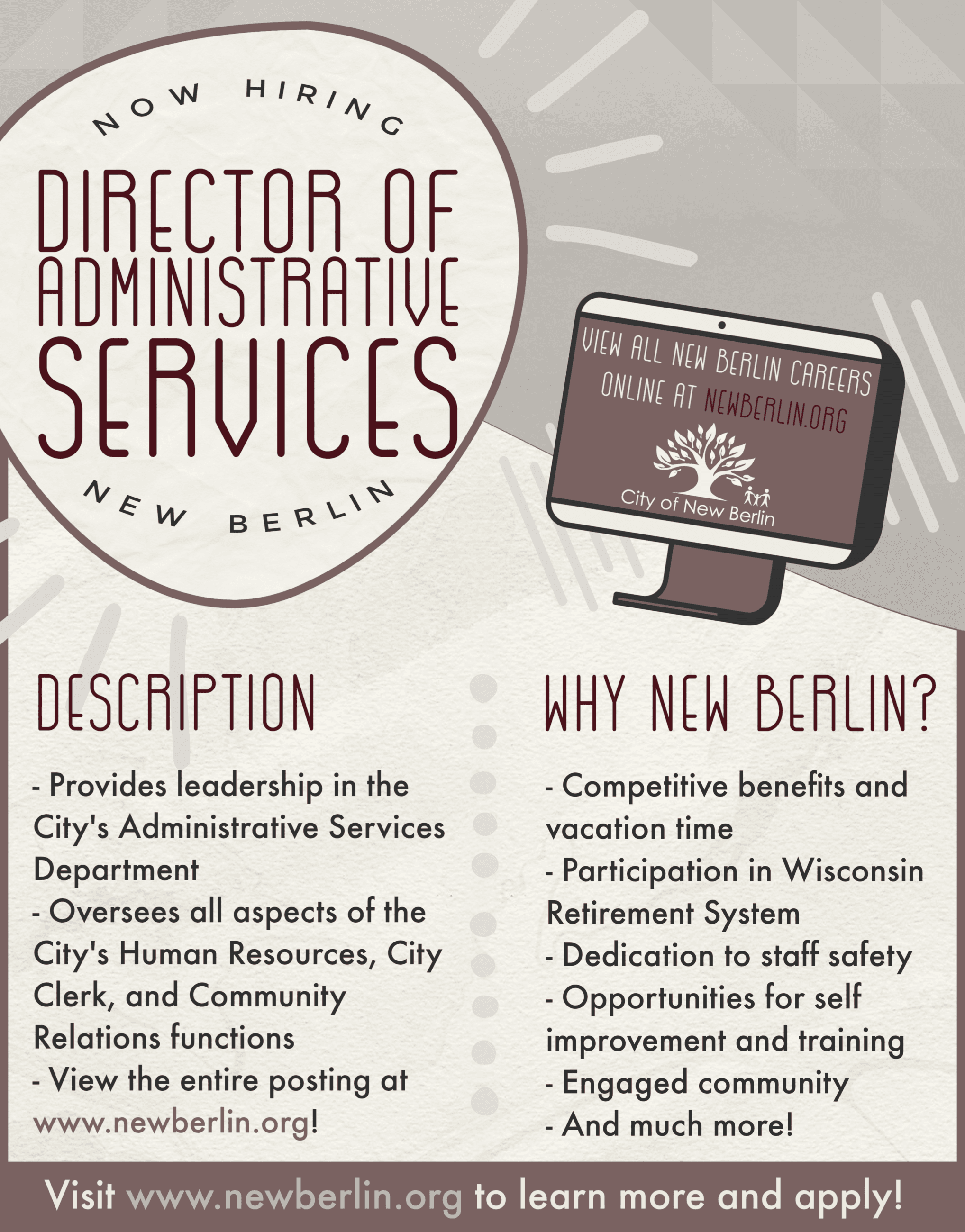 Director Admin Services Recruiting Poster (1)