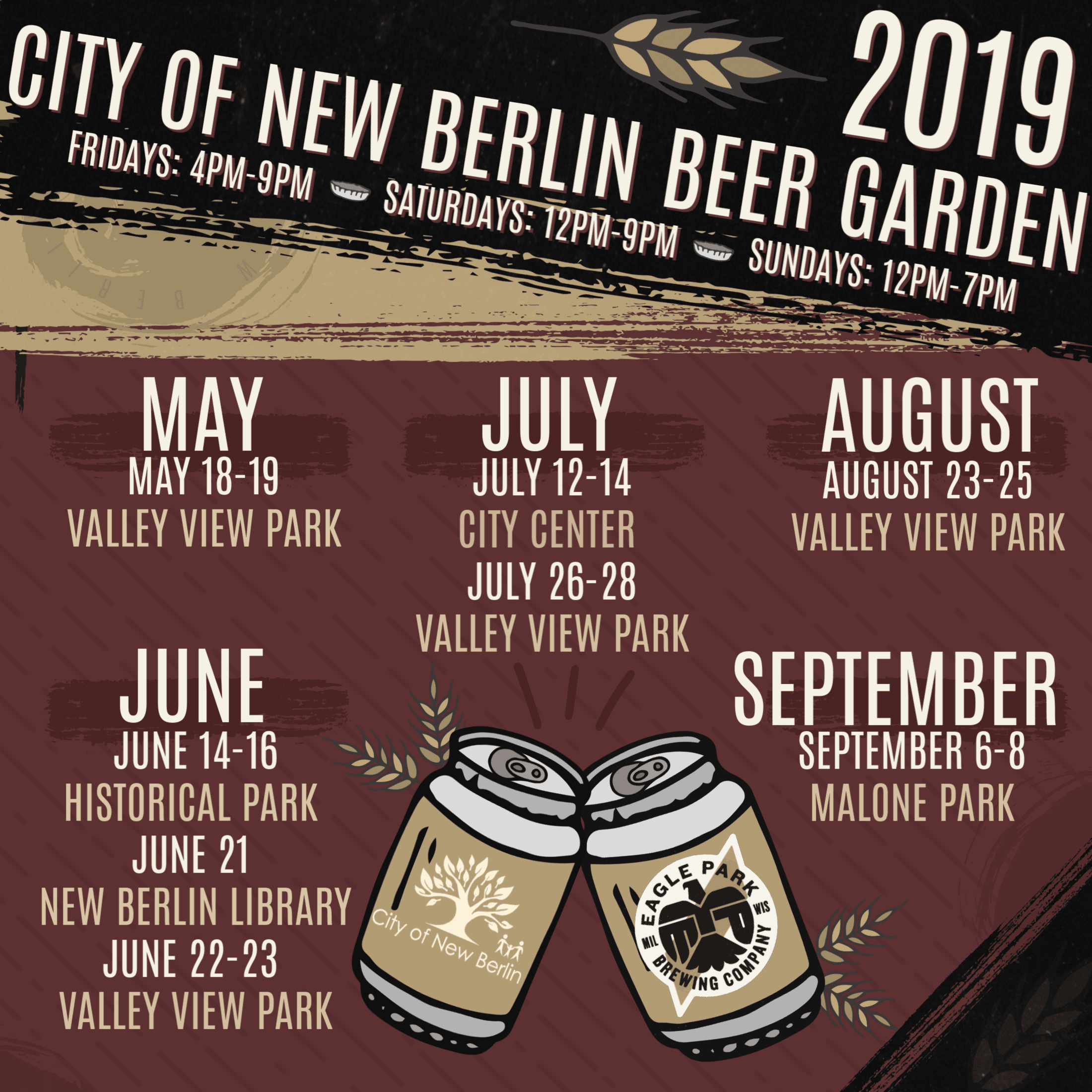Beer Garden 2019 Square Size