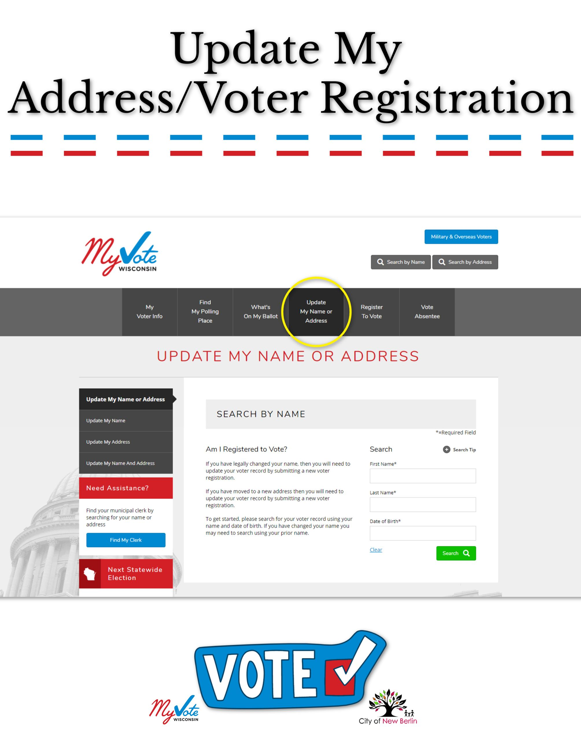 Update my Address_Voter Registration