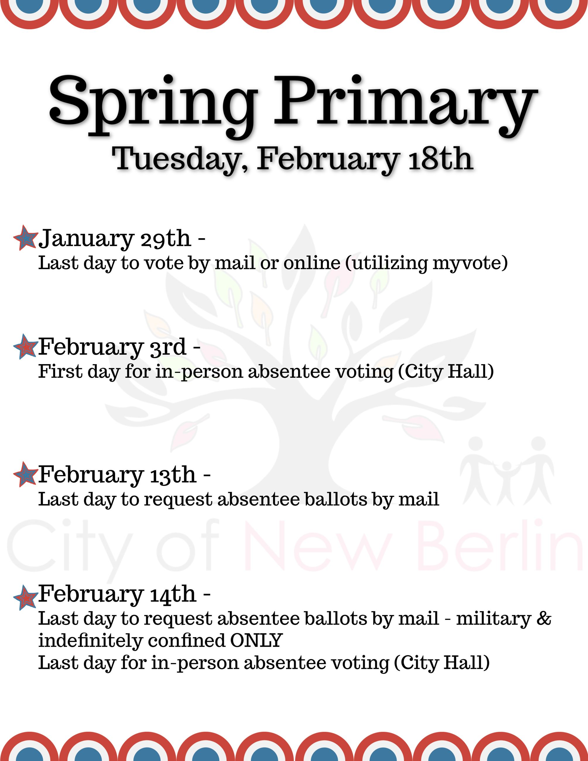 Spring Primary