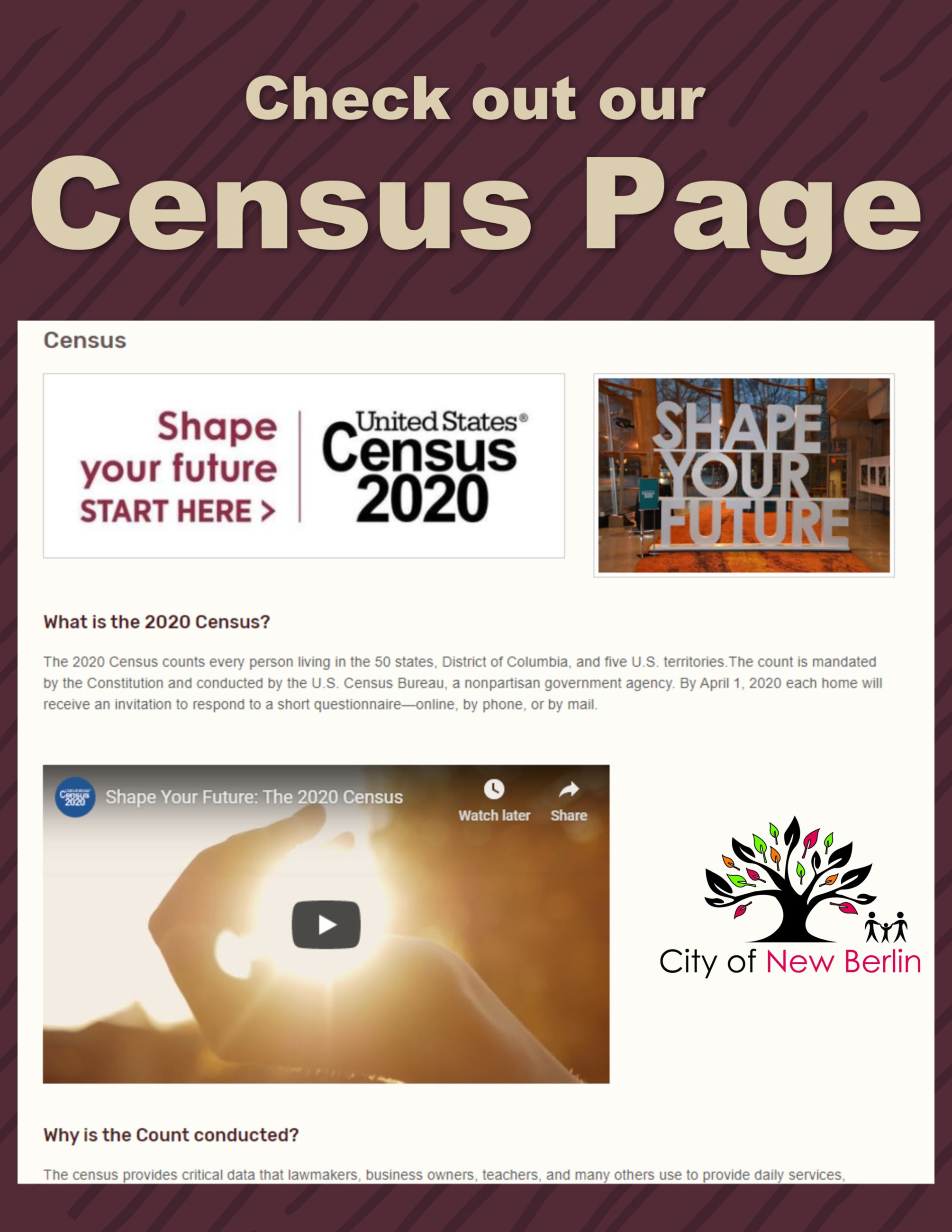 Census Page Advertisement