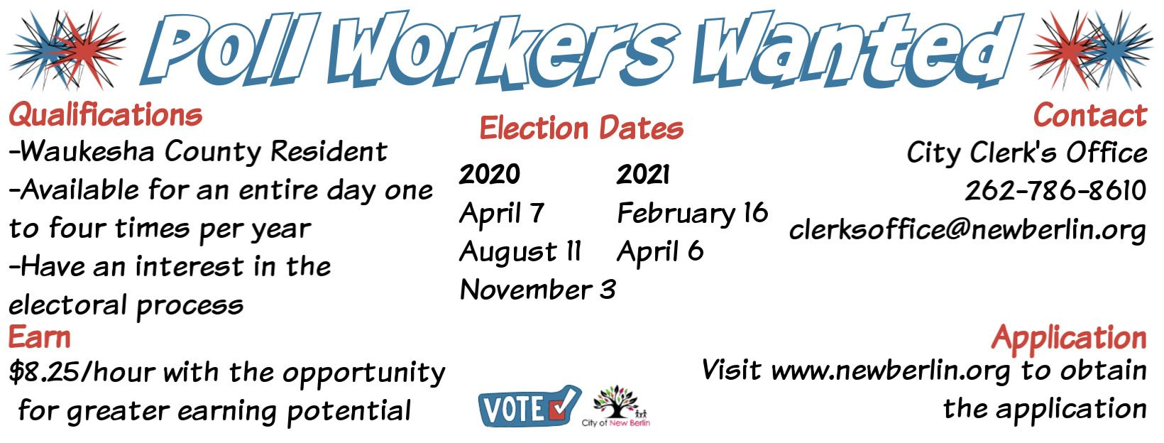 Poll workers wanted (1)