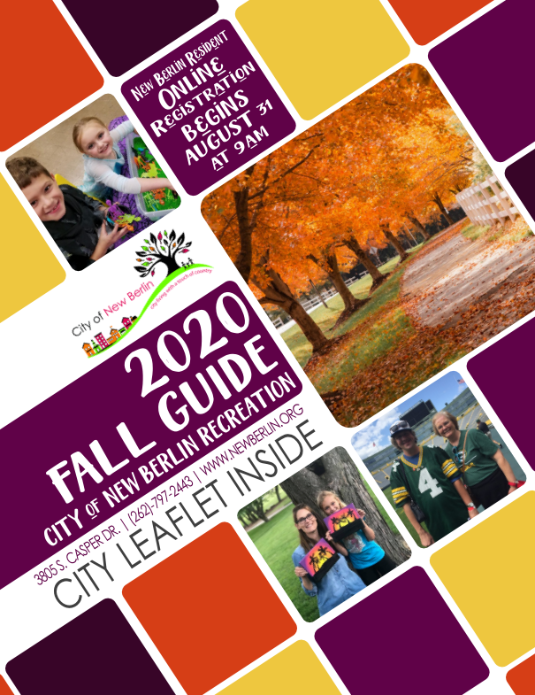 Fall 2020 Activity Cover