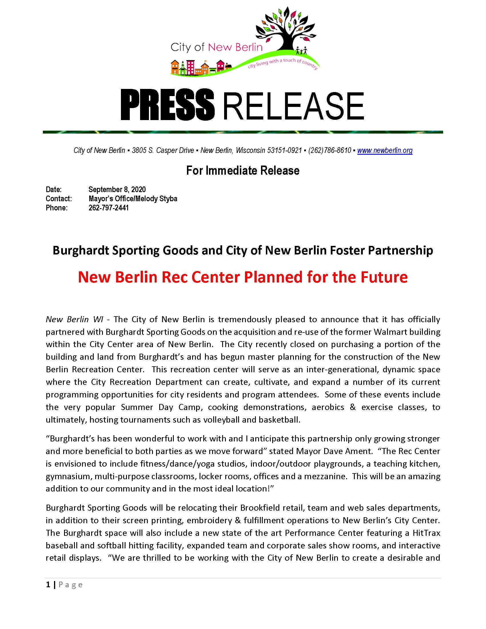 PRESS RELEASE - Burghardt  City Partnership_Page_1