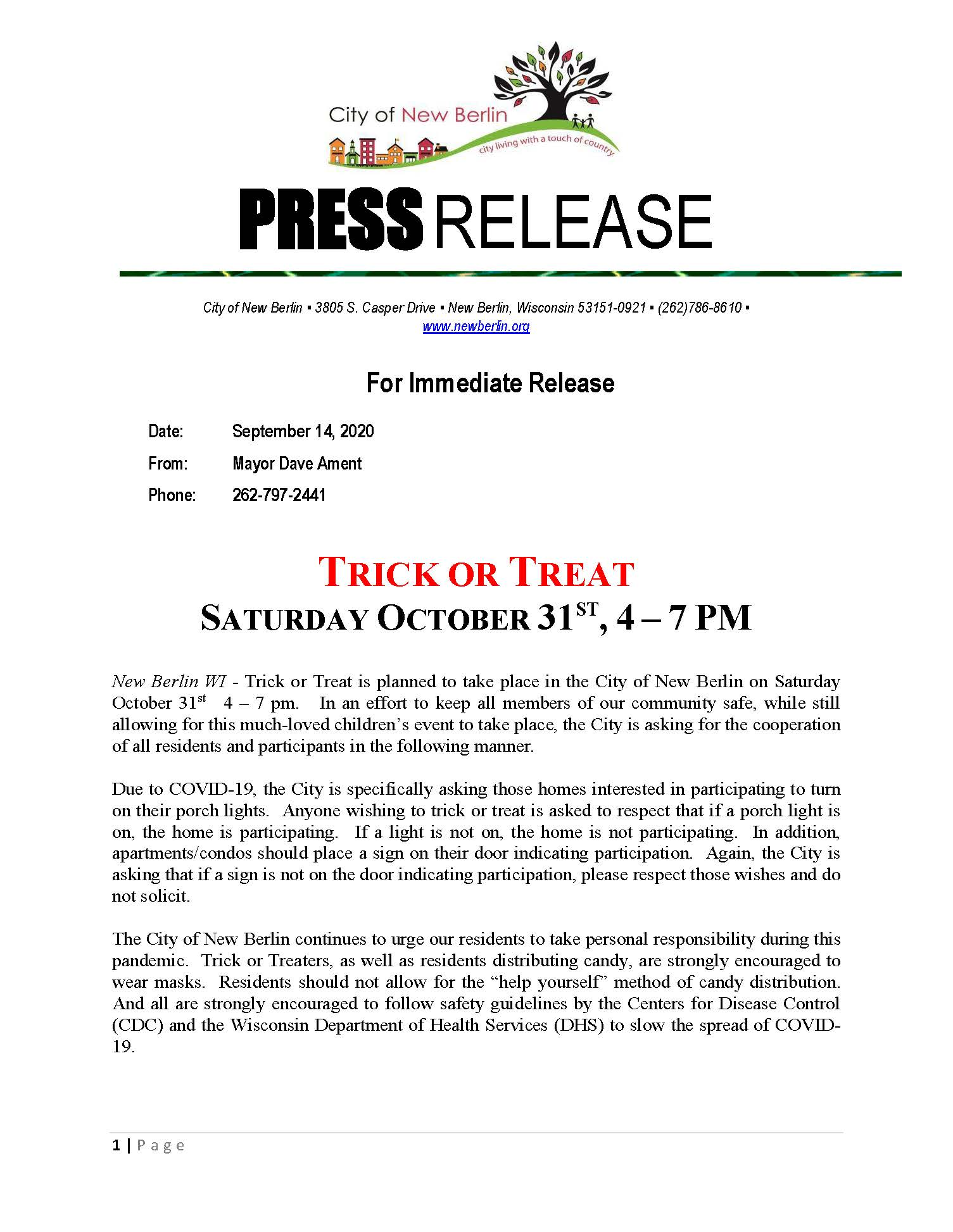 Press Release - Trick or Treat_Page_1