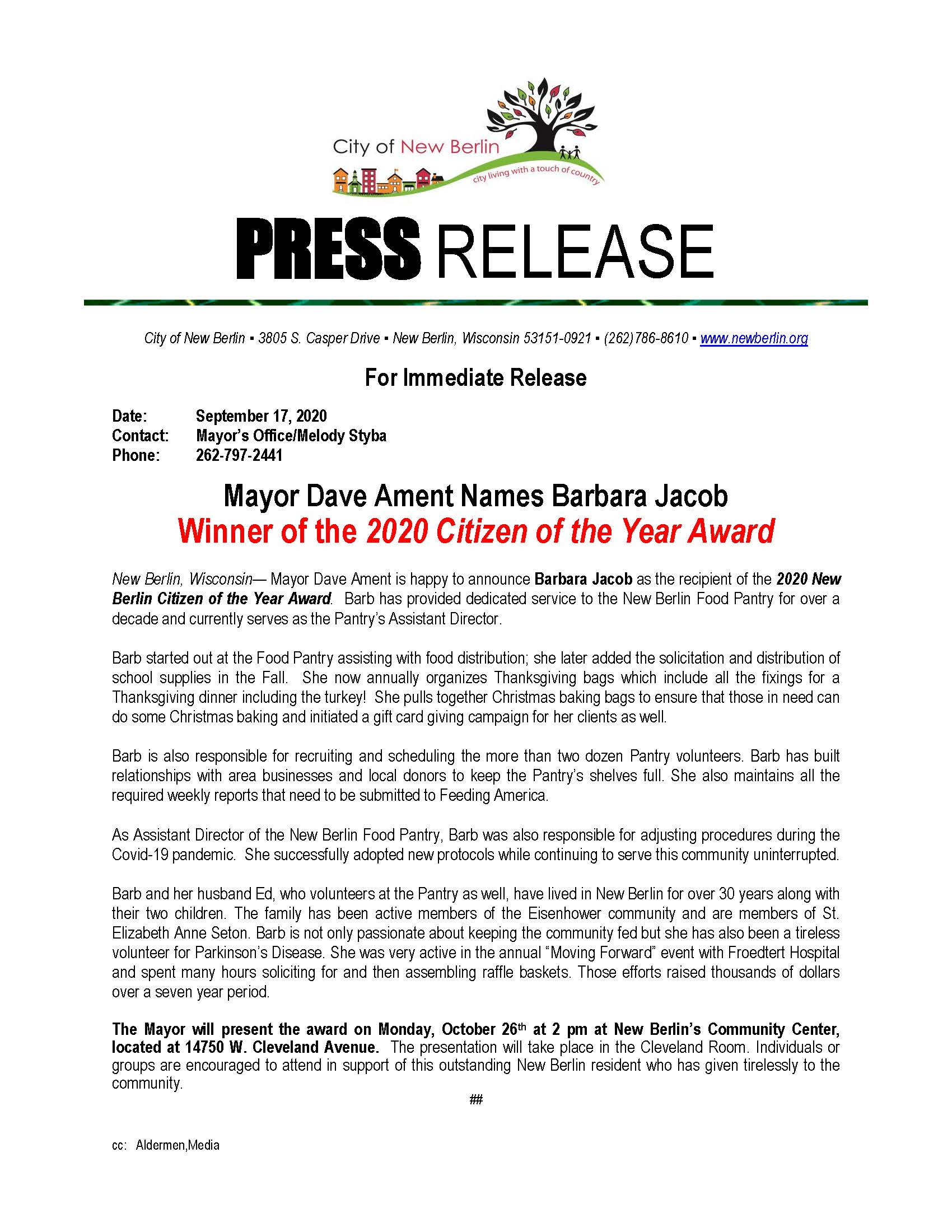 Press-Release-Citizen of the Year Announcement