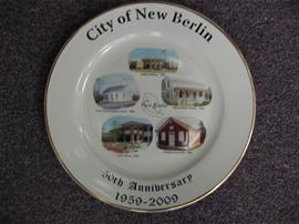 50th Anniversary Commemorative Plate
