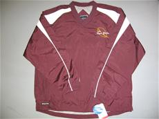 Maroon Long-Sleeve Windshirt